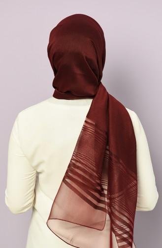Dark Claret Red Sjaal 4878-07