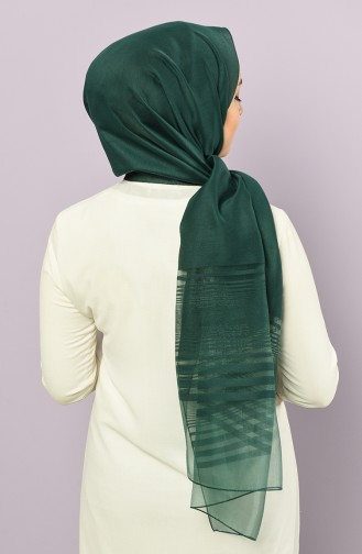 Smaragdgrün Schal 4878-22