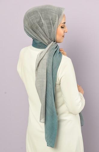 Light Oil Blue Sjaal 4511-3231A-01