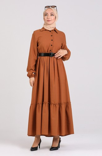 Tobacco Brown Dress 4329-04