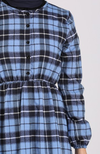 Blue Dress 0385-02