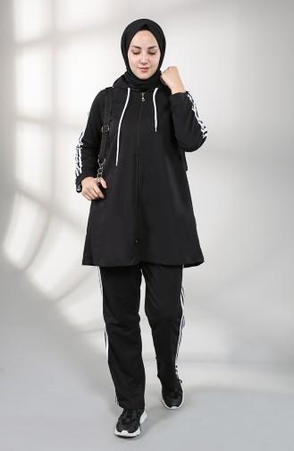 Survêtement Noir 8000-01