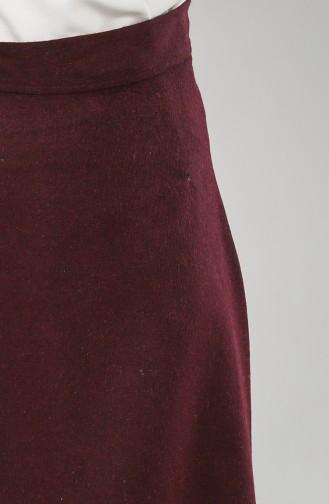 Claret red Skirt 6487-05