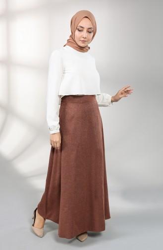Brick Red Skirt 6487-06