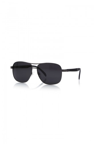 Schwarz Sonnenbrillen 1012-C102