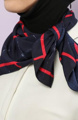 Navy Blue Foulard 61745-01