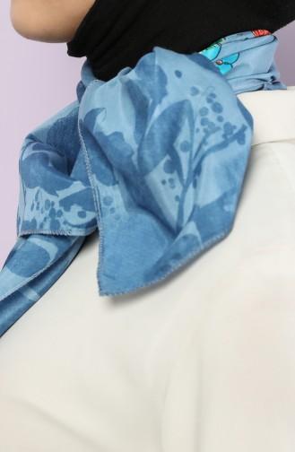 Blue Scarf 61710-01