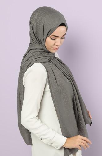 Dark gray Shawl 15212-15