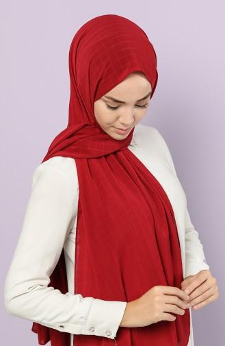 شال أحمر كلاريت 1412-02