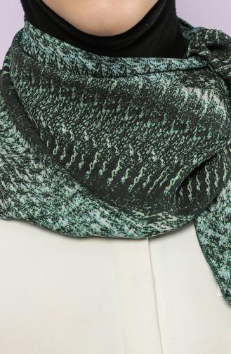 Green Scarf 61765-01