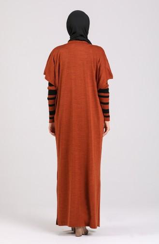 Zimtfarbig Anzüge 7221-01
