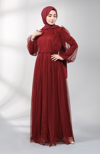 Habillé Hijab Bordeaux 5400-03