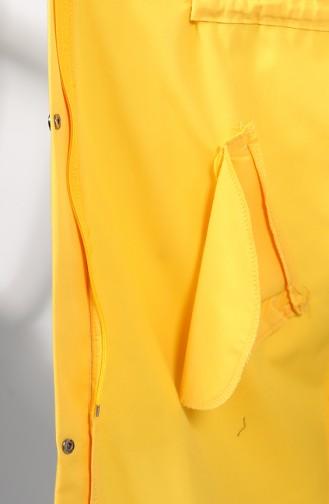 Trench Coat Jaune 1259-03