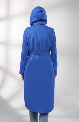 Trench Coat Blue roi 1259-04
