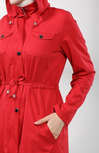 Trench Coat Rouge 1259-05