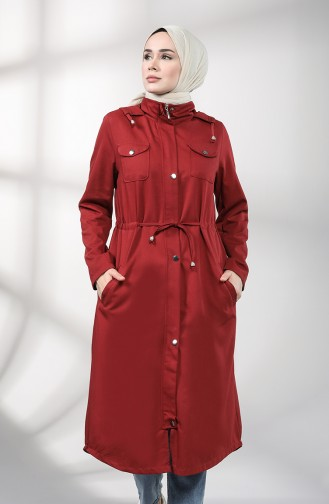 Weinrot Trench Coats Models 1259-08