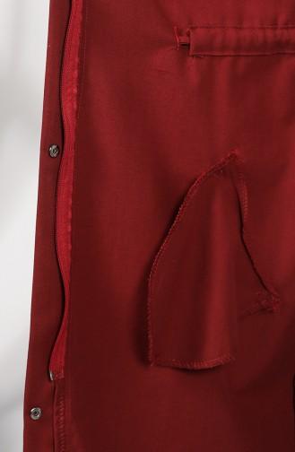 Trench Coat Bordeaux 1259-08