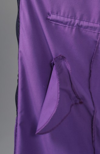 Trench Coat Pourpre 1259-10