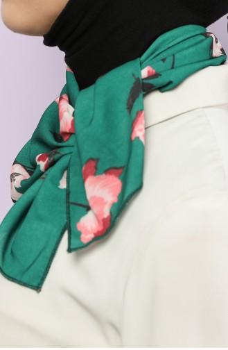 Smaragdgrün Foulard 61761-01