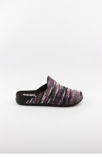 Purple Woman home slippers 3583.MM MOR