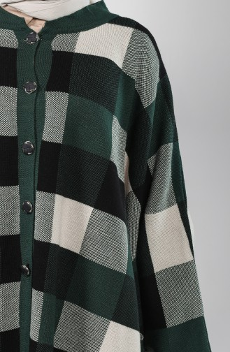Dark Green Poncho 4155-01