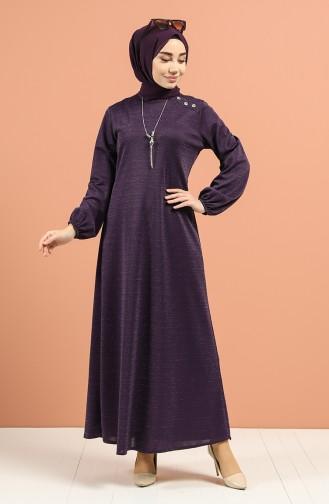 Purple İslamitische Jurk 1001-03