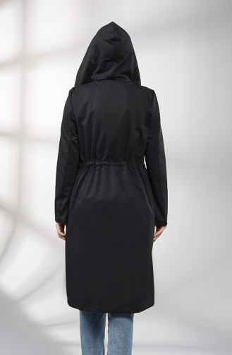 Black Trench Coats Models 1884-02