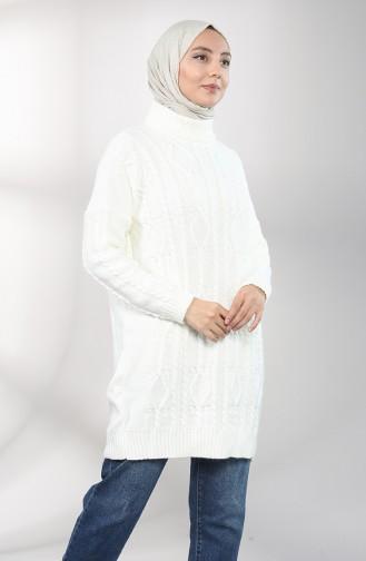 Ecru Tunic 0615-02