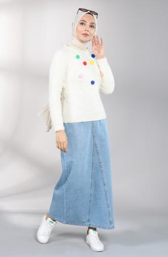 Jeans Blue Rok 4664-01