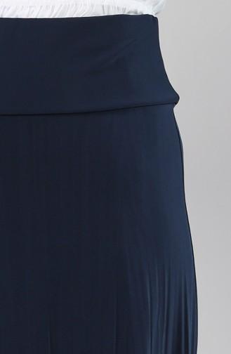 Navy Blue Skirt 3002A-06