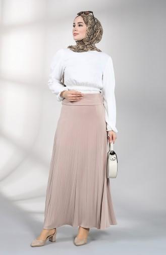 Beige Skirt 3002A-08