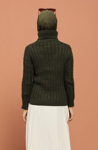 Khaki Sweater 1208-06