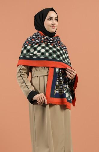 Orange Sjaal 42600-04