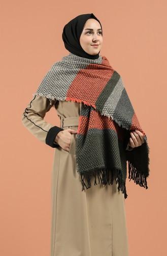 Khaki Shawl 2495-05