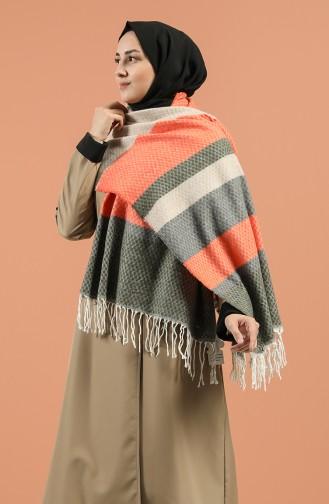 Khaki Schal 2495-05
