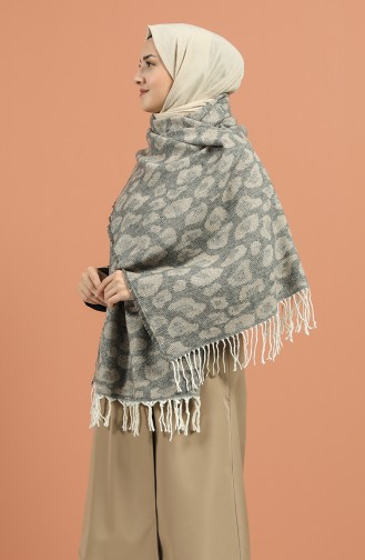 Gray Shawl 2560-02
