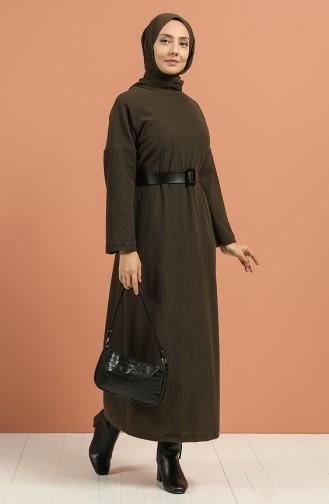 Camisole Belt Dress 5190-05 Khaki 5190-05