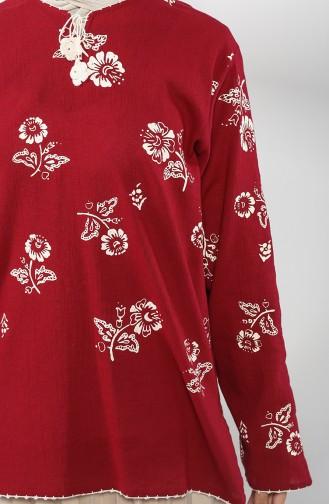 Claret red Tunic 0003-05
