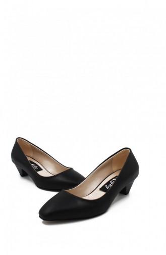 Black High-Heel Shoes 00259.SIYAHCILT