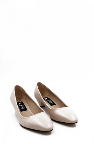 Skin color Heeled Shoes 00259.TENCILT