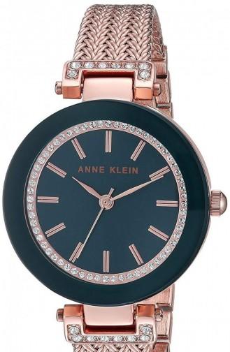 Rose Tan Wrist Watch 1906NVRG
