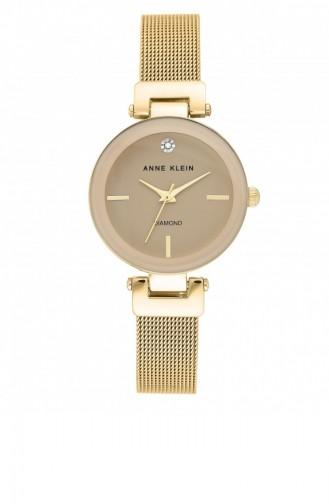 Gold Wrist Watch 3034TNGB