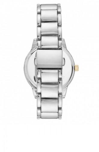 Silver Gray Wrist Watch 3057WTTT