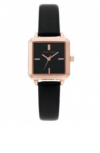 Black Wrist Watch 3090RGBK