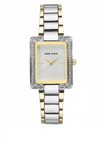 Silver Gray Wrist Watch 3129SVTT