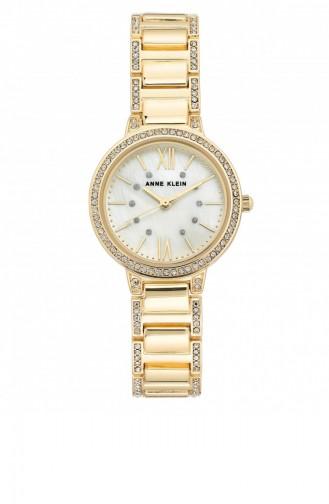 Gold Wrist Watch 3134MPGB