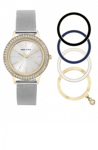 Silver Gray Horloge 3167TTST