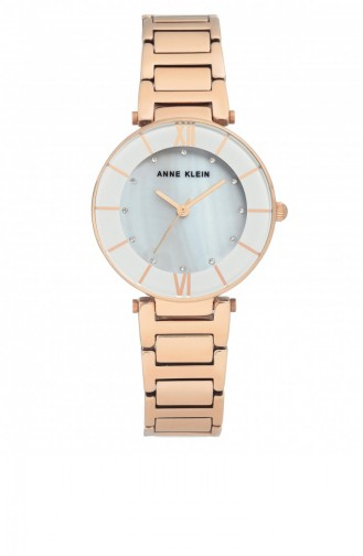 Rose Tan Wrist Watch 3198LGRG
