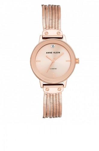 Rose Tan Wrist Watch 3220RGRG