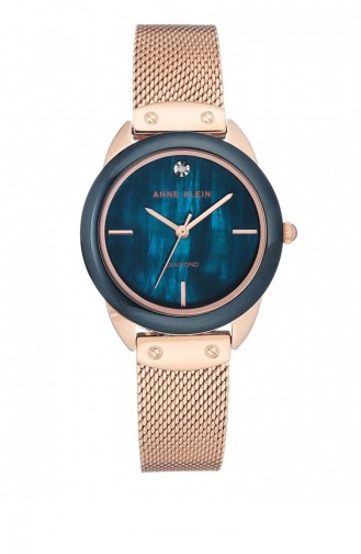 Rose Skin Watch 3258NVRG